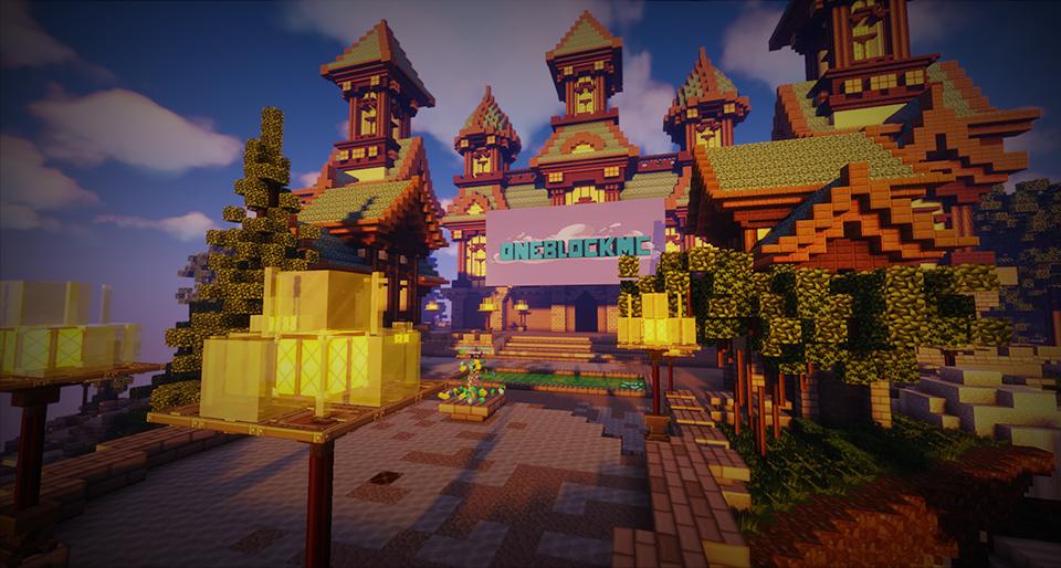 OneBlock Minecraft Lobby