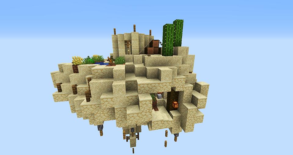 SkyBlock Desert Island