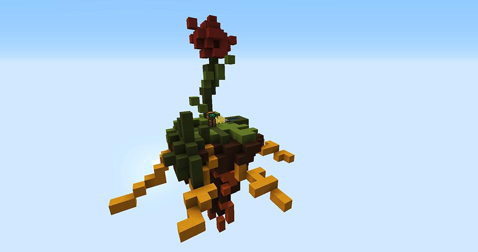 SkyBlock Flower Island