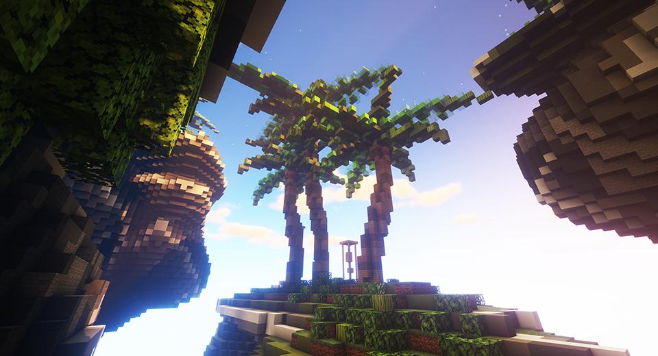 Minecraft Palm Tree Island