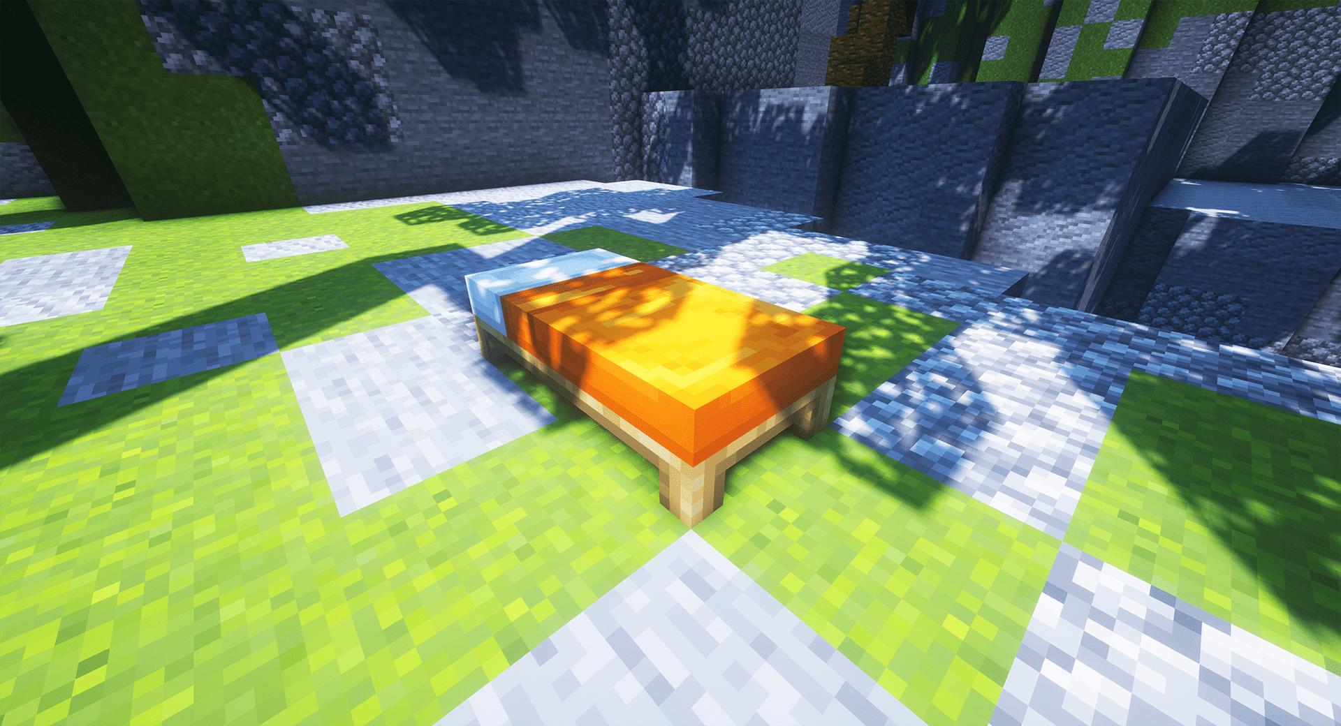 Minecraft Bedwars - Enemy Bed