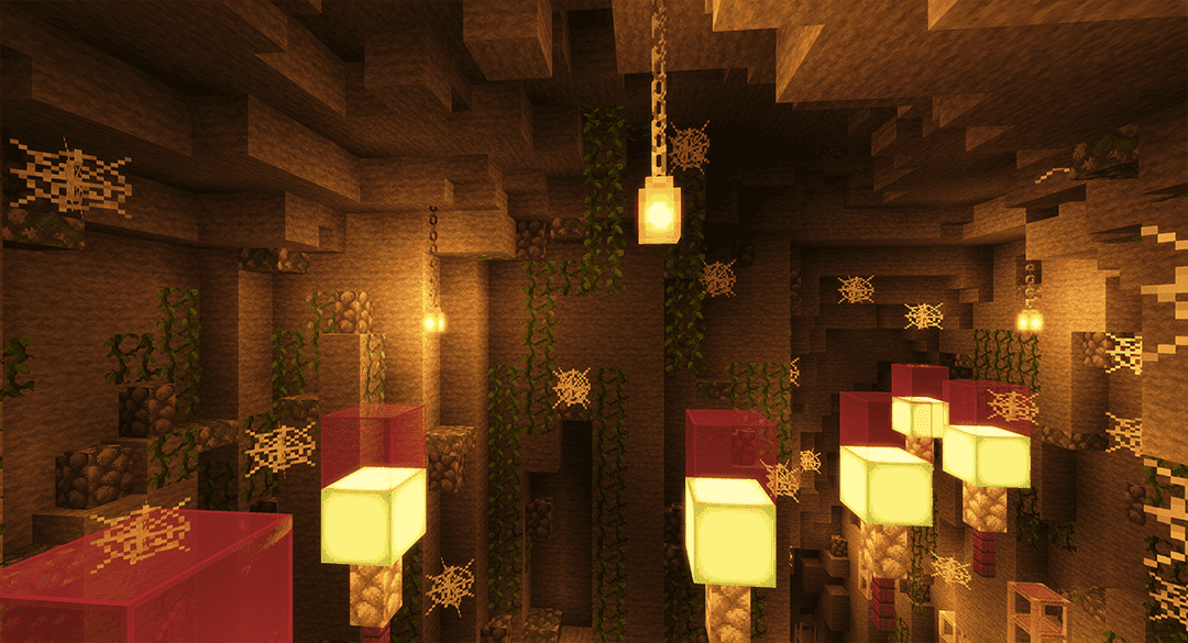 Cave Underground Minecraft Map