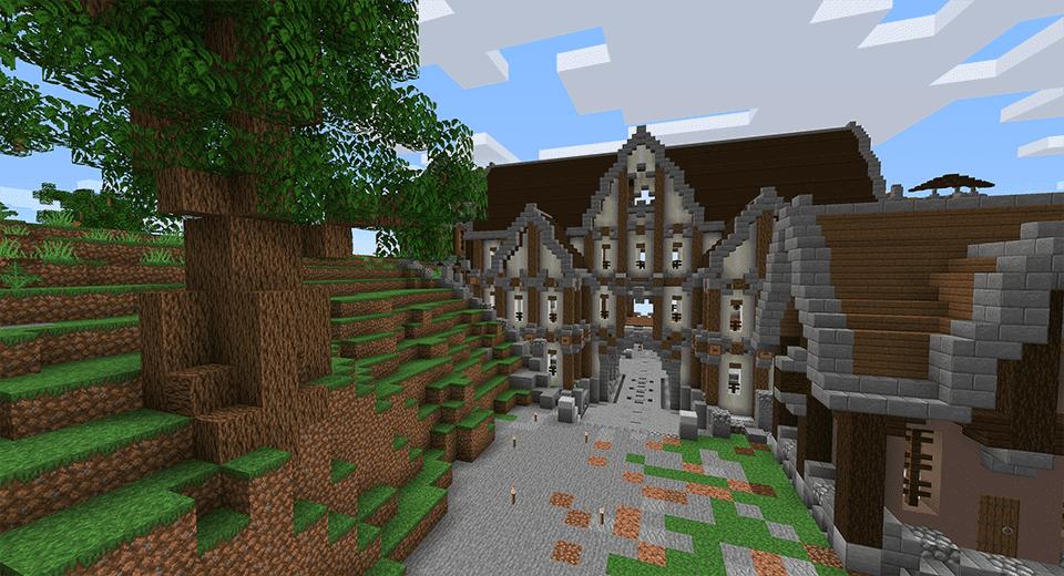 Minecraft survival house build