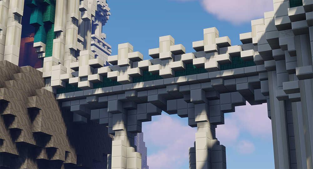 Minecraft Parkour Bridge