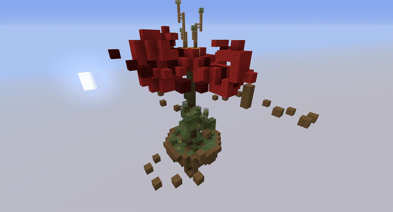 Minecraft Parkour Flower Map