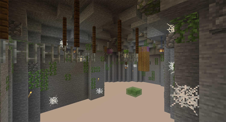 Minecraft Parkour Slime Jumps