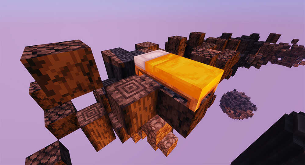 Orange Minecraft BedWars Server Map