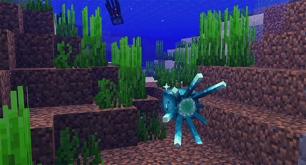 1.17 Minecraft Glow Squids