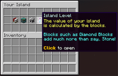 OneBlock: Calculate Island Level