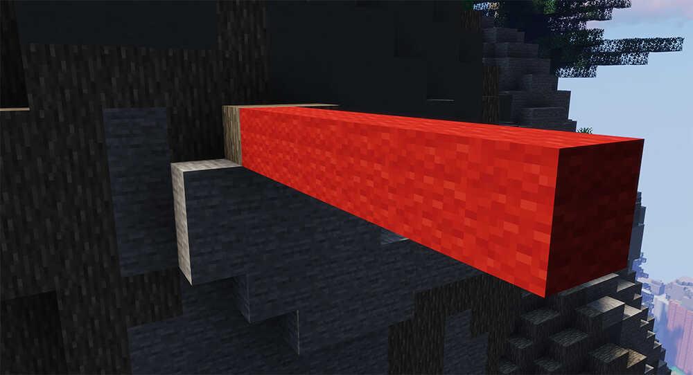 Minecraft BedWars Bridge