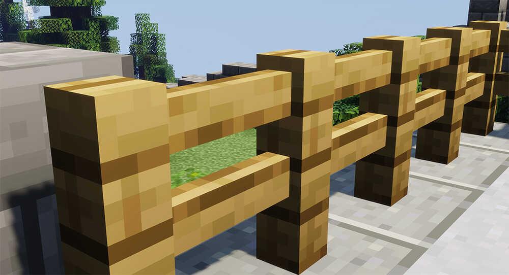 Minecraft Parkour Fences
