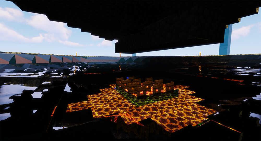 Minecraft SkyBlock Mob Farm