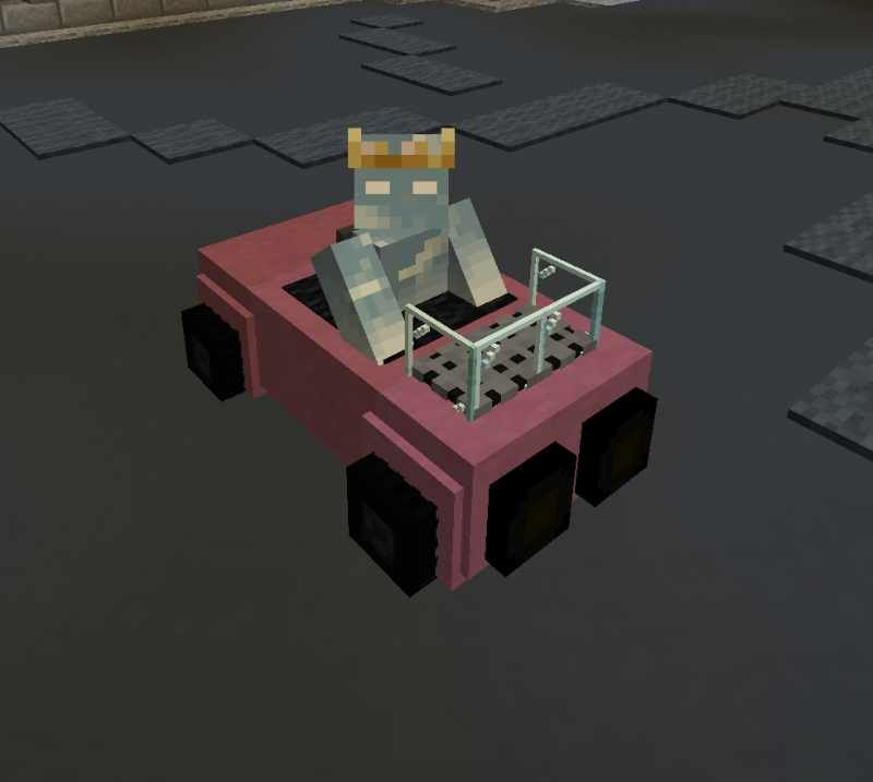 Magenta BlockCar