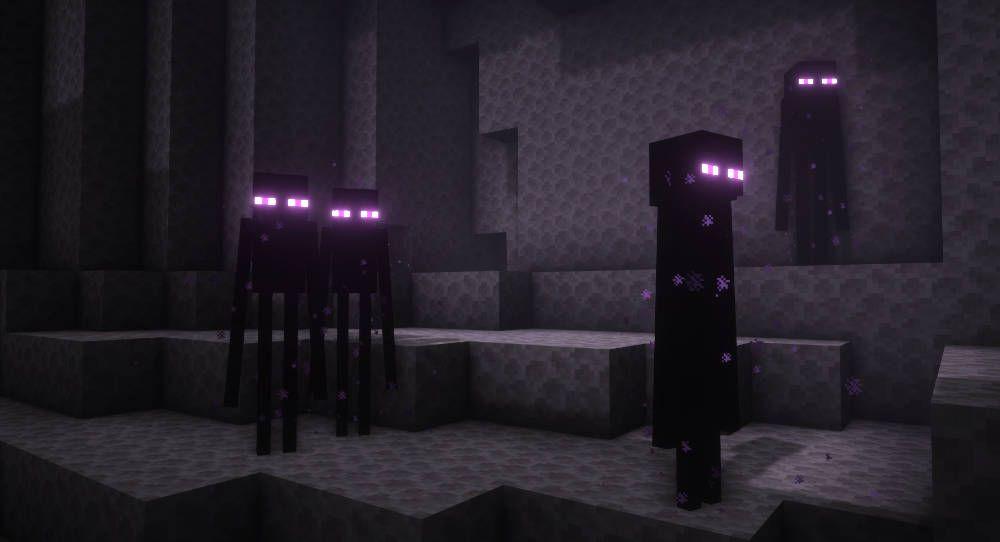 Minecraft Enderman in Survival