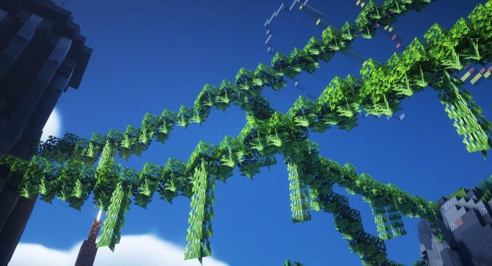 Minecraft Tree Leaves
