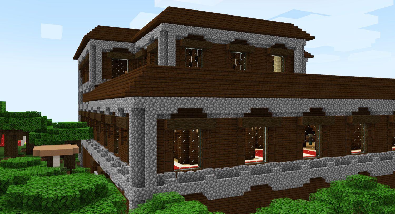 Woodland Mansions on Creative Servers