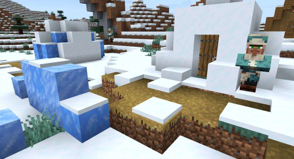 Minecraft Igloo Monument