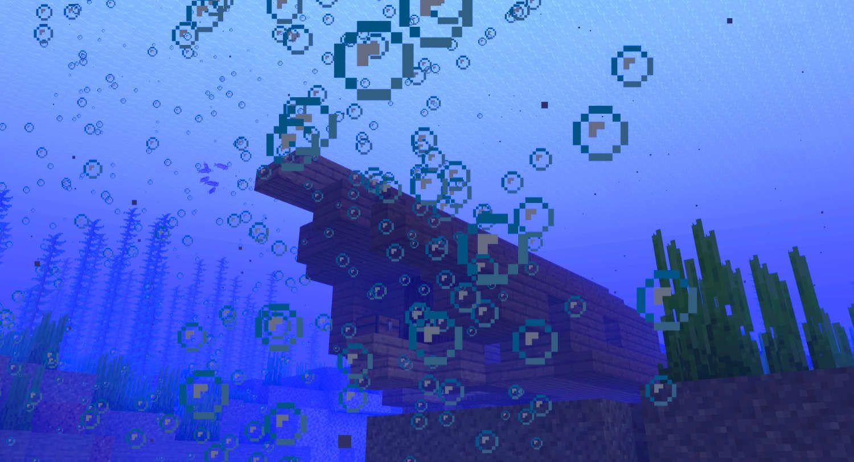 Minecraft Shipwreck Monument